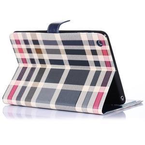 Fashion style puzdro na iPad Air 2 - tmavomodré - 3
