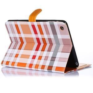 Fashion style puzdro pre iPad Air 2 - svetlohnedé - 3