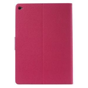 Excelent Diary puzdro pre iPad Air 2 - rose - 3