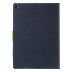 Excelent Diary puzdro pre iPad Air 2 - tmavomodré - 3