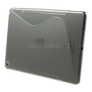 S-line gélový obal pre iPad Air 2 - sivý - 3