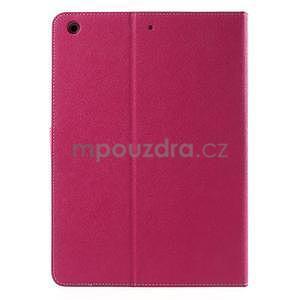 Diary peňaženkové puzdro pre iPad Air - rose - 3