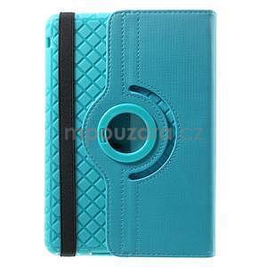 Circu otočné puzdro pre Apple iPad Mini 3, iPad Mini 2 a ipad Mini - modré - 3