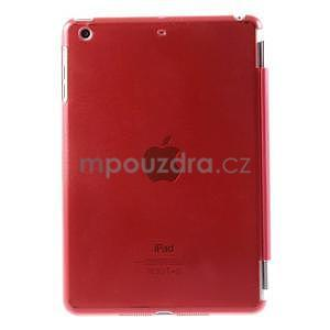 Classic tří polohové puzdro na iPad Mini 3, ipad Mini 2 a na iPad Mini -  červené - 3