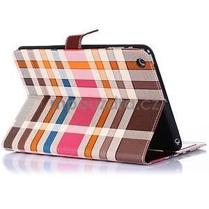 Costa puzdro pre Apple iPad Mini 3, iPad Mini 2 a iPad Mini - tmavohnedé - 3