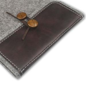 Envelope univerzálne púzdro na tablet 22 x 16 cm - coffee - 3