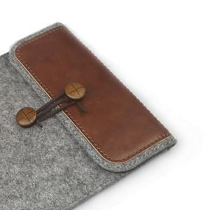 Envelope univerzálne púzdro na tablet 22 x 16 cm - hnedé - 3