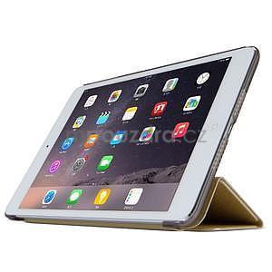 Lines polohovateľné puzdro pre iPad Mini 3 / iPad Mini 2 / iPad mini - champagne - 3