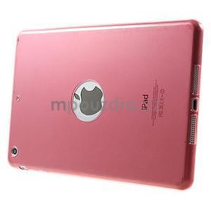 Ultra tenký slim obal na iPad Mini 3, iPad Mini 2, iPad Mini - červený - 3