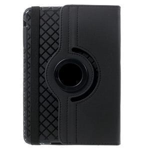 Circu otočné puzdro pre Apple iPad Mini 3, iPad Mini 2 a ipad Mini - čierne - 3