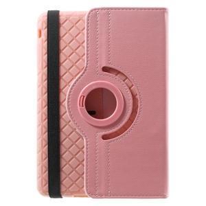 Circu otočné puzdro na Apple iPad Mini 3, iPad Mini 2 a ipad Mini - ružové - 3