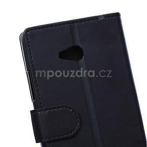 Ochranné peňaženkové puzdro Microsoft Lumia 640 - čierne - 3
