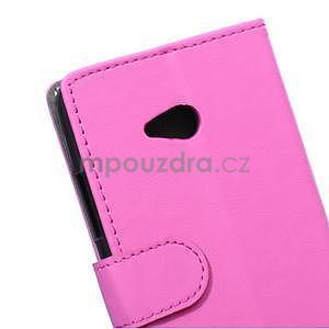 Ochranné peňaženkové puzdro Microsoft Lumia 640 - rose - 3