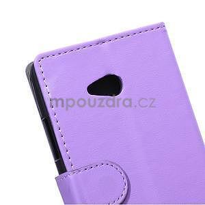 Ochranné peňaženkové puzdro Microsoft Lumia 640 - fialové - 3