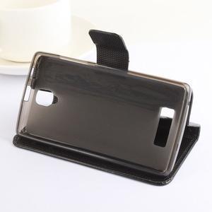 Safety pouzdro na mobil Lenovo A2010 - hnědé - 3