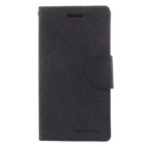 Mr. Fancy koženkové puzdro na Samsung Galaxy A5 - čierné - 3