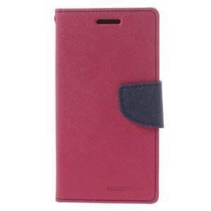 Mr. Fancy koženkové puzdro na Samsung Galaxy A5 - rose - 3