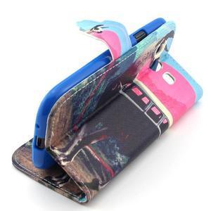 Peňaženkové puzdro pre mobil Samsung Galaxy S3 - lama - 3