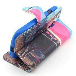 Fun peňaženkové puzdro pre Samsung Galaxy S3 mini - lama - 3
