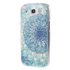 Ultratenký gélový obal na Samsung Galaxy S3 - lotus - 3