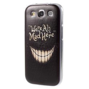 Ultratenký gélový obal na Samsung Galaxy S3 - smile - 3