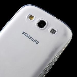 Ultratenký slim 0.6 mm obal na Samsung Galaxy S III / S3 - transparentný - 3