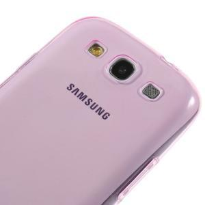 Ultratenký slim 0.6 mm obal na Samsung Galaxy S III / S3 - rose - 3