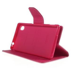 Ochranné puzdro pre Sony Xperia M4 Aqua - ružové/rose - 3