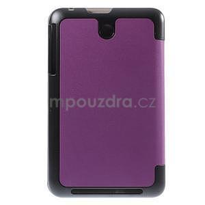 Supreme polohovateľné puzdro na tablet Asus Memo Pad 7 ME176C - fialové - 3