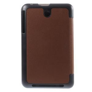 Supreme polohovateľné puzdro pre tablet Asus Memo Pad 7 ME176C - hnedé - 3