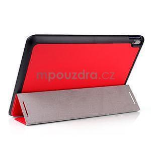 Troj-polohové puzdro pre tablet Lenovo IdeaTab A10-70 - červené - 3