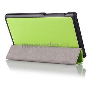 Polohovateľné puzdro pre tablet Lenovo Tab 2 A7-10 - zelené - 3