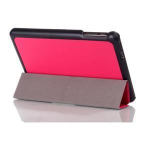 """Troch polohové puzdro na tablet Lenovo IdeaTab Miix 3 8 """"- rose - 3"""