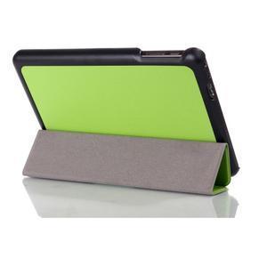 """Troch polohové puzdro na tablet Lenovo IdeaTab Miix 3 8 """"- zelené - 3"""