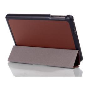 """Troch polohové puzdro na tablet Lenovo IdeaTab Miix 3 8 """"- hnedé - 3"""