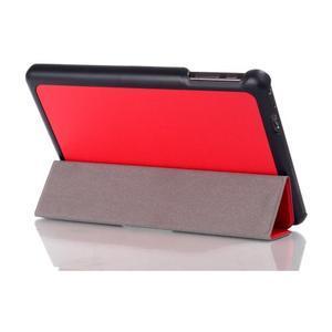 """Troch polohové puzdro na tablet Lenovo IdeaTab Miix 3 8 """"- červené - 3"""
