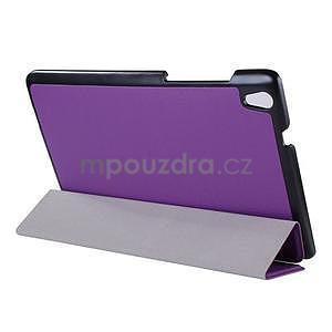 Fialové puzdro na tablet Lenovo S8-50 s funkciou stojančeku - 3