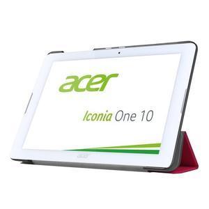 Trojpolohové puzdro pre tablet Acer Iconia One 10 B3-A20 - rose - 3