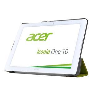 Třípolohové pouzdro na tablet Acer Iconia One 10 B3-A20 - zelené - 3