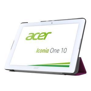 Trojpolohové puzdro pre tablet Acer Iconia One 10 B3-A20 - fialové - 3