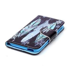 Motive pouzdro na mobil Acer Liquid Jade Z - peříčka - 3