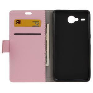 Gregory peňaženkové puzdro pre Acer Liquid Z520 - ružové - 3