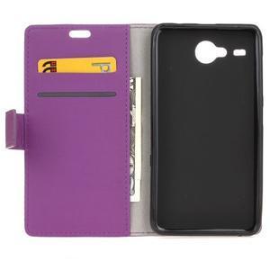 Gregory peňaženkové puzdro pre Acer Liquid Z520 - fialové - 3