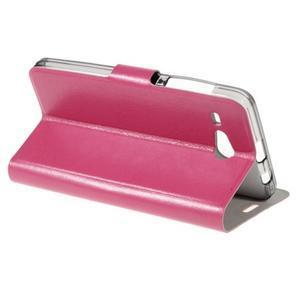 Horse peňaženkové puzdro pre Acer Liquid Z520 - rose - 3