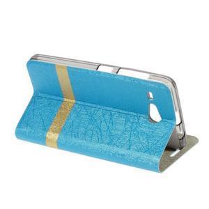 Lines pouzdro na Acer Liquid Z520 - modré - 3