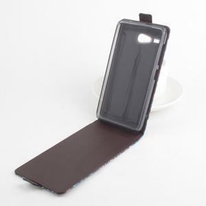 Flipové puzdro pre mobil Acer Liquid Z520 - záda dívky black - 3