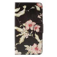 Nice koženkové pouzdro na mobil Acer Liquid Z520 - krásné květiny - 3/7