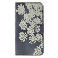 Nice koženkové pouzdro na mobil Acer Liquid Z520 - kvetoucí květy - 3/7