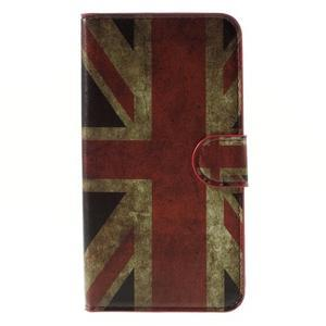 Nice koženkové pouzdro na mobil Acer Liquid Z520 - UK vlajka - 3