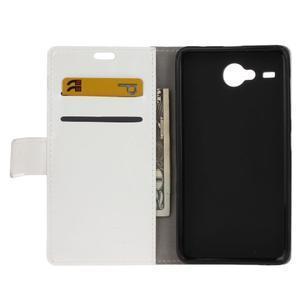 Stanley PU kožené puzdro pre Acer Liquid Z520 - biele - 3